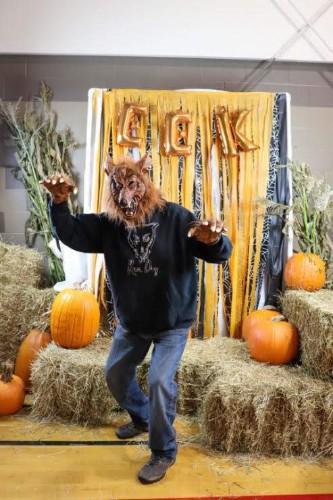 werewolf at harvest festival!